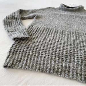 American Eagle grey knitted sweater